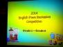 20140310 小學部英文演講比賽 (Elementary Speech Competition)