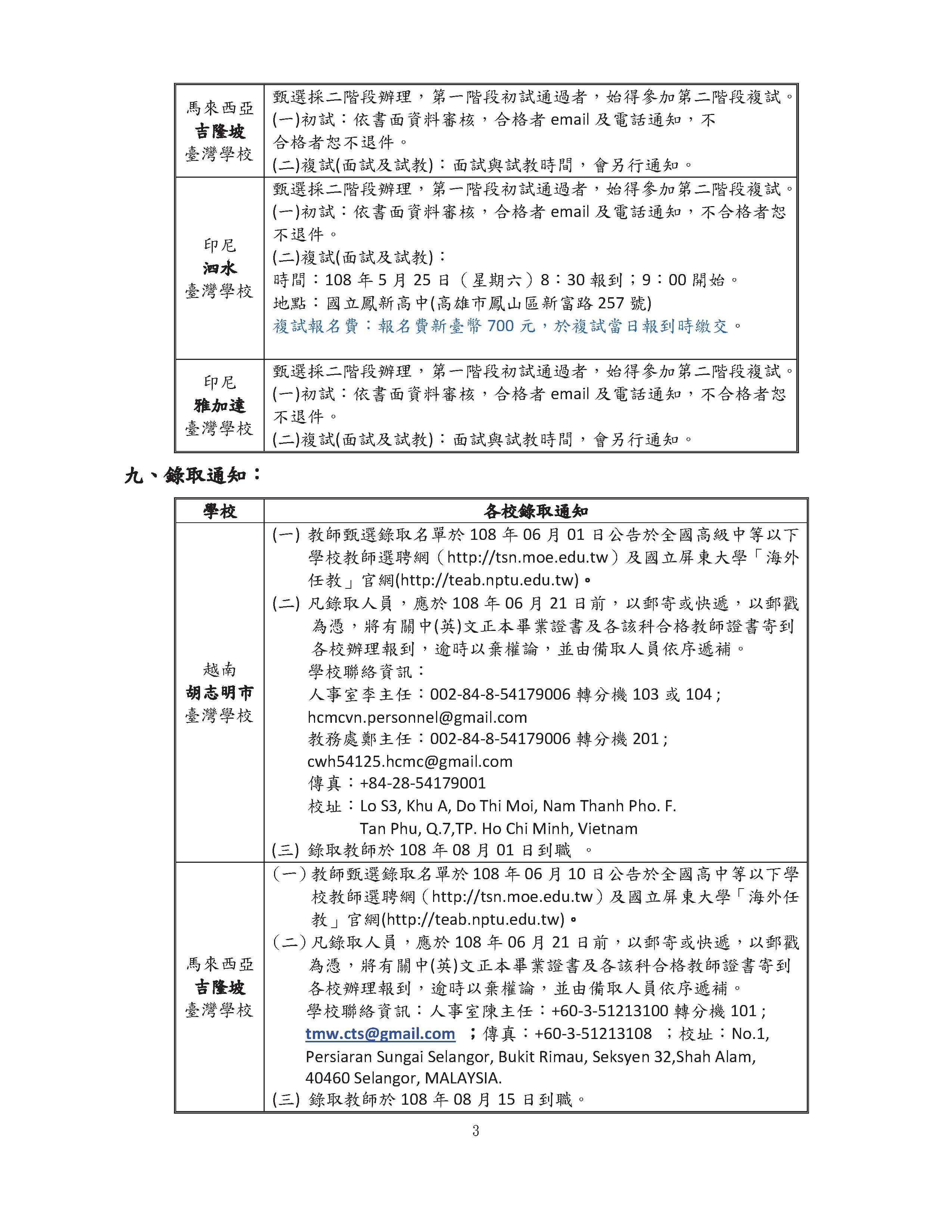 (公告版)108學年徴聘教師甄選簡章(四所臺校聯合招聘).pdf0002